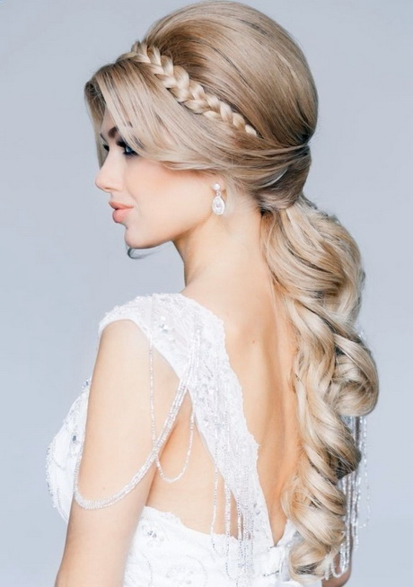 abendfrisuren lange haare offen