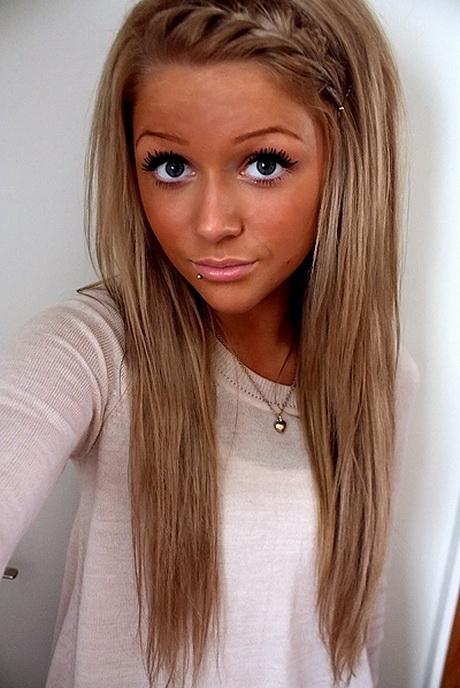 Blond oder braun haare