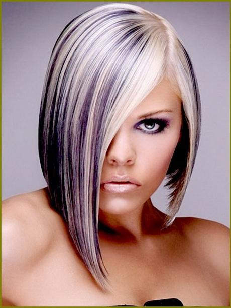 Blonde Haare Mit Lila Str 228 Hnen