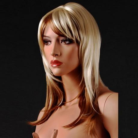 Blonde Langhaarfrisuren