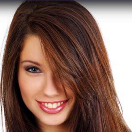 Brauntu00f6ne haarfarbe