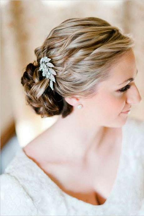 Brautfrisuren Mittellanges Haar