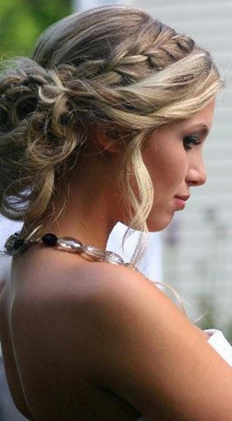 Einfache Brautfrisuren