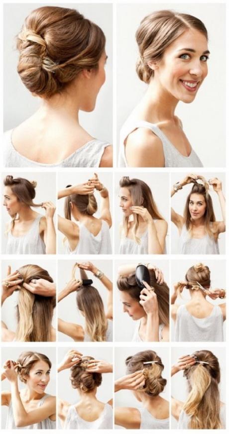 einfache frisuren für schulterlange haare