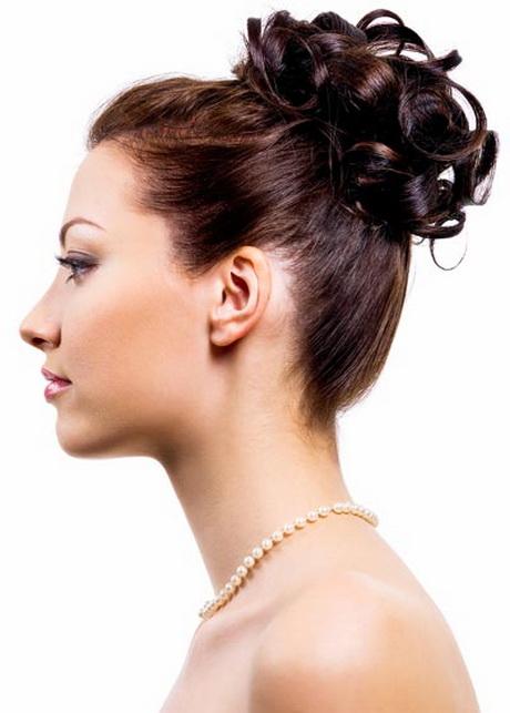 festliche frisuren schulterlanges haar