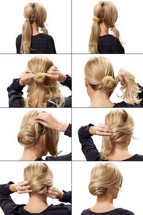 Hochsteckfrisuren fur kurze haare mit anleitung