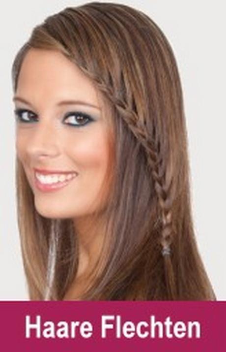 Frisuren F 252 R Langes Feines Haar
