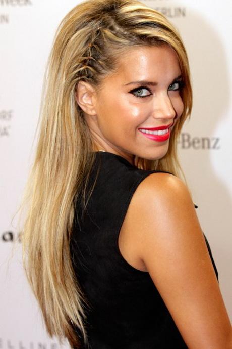frisuren lange glatte haare