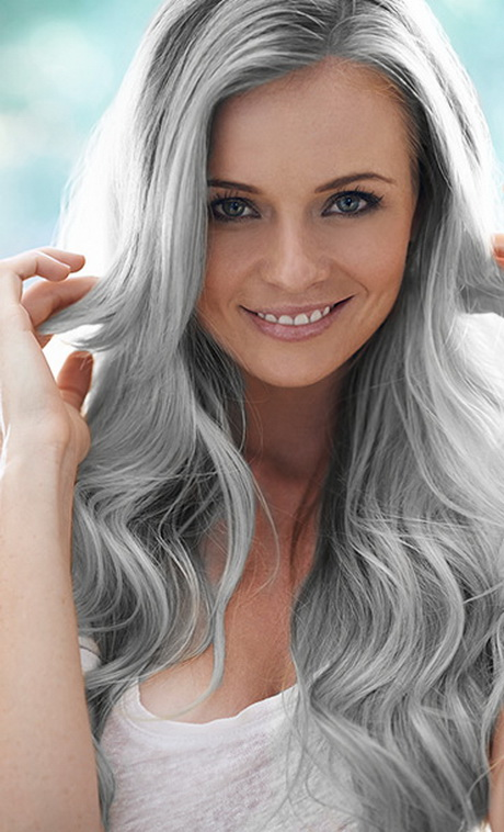 graue haarfarbe. Black Bedroom Furniture Sets. Home Design Ideas