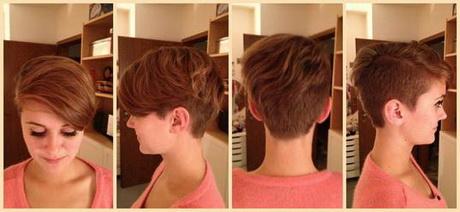 Haare kurz schneiden