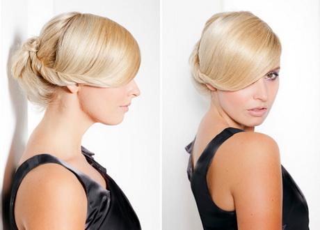hochsteckfrisuren bei kurzen haaren