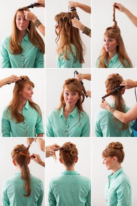 lange haare frisuren anleitung
