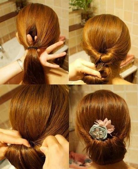Steps To Make Easy Hairstyles: Steckfrisuren Zum Selbermachen