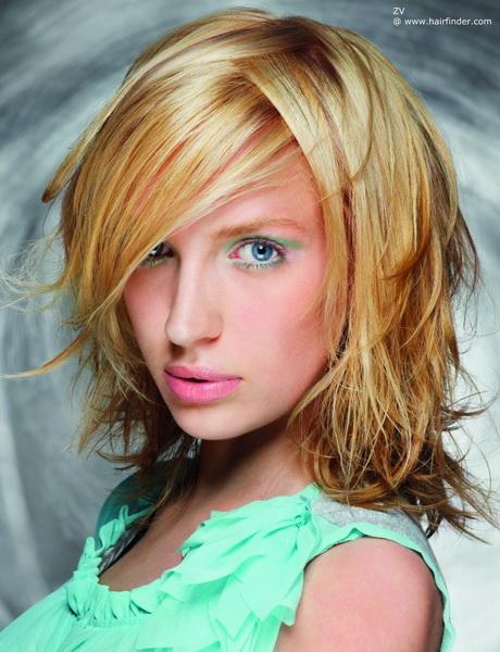 Frisch Frisuren Eckiges Gesicht Dünnes Haar Bilder