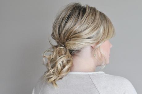 Schnelle frisuren fur schulterlanges haar