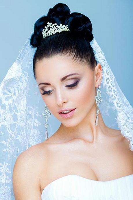 Braut hochsteckfrisur mit schleier