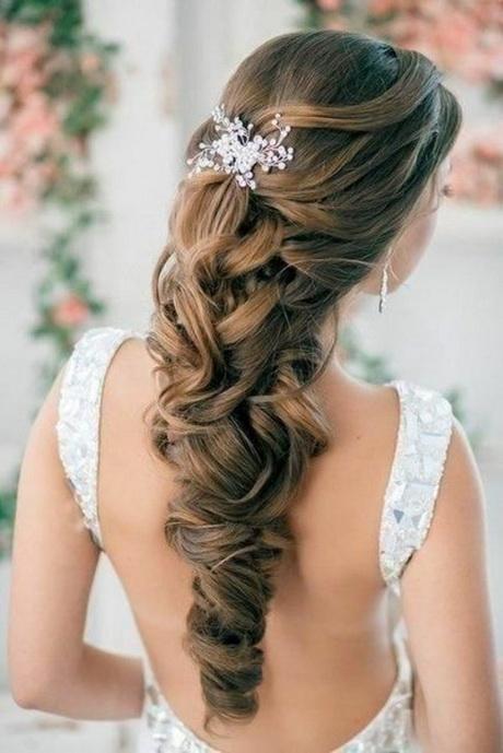 35 Beautiful Wedding Hairstyles For Long Hair: Brautfrisur Lange Haare Offen