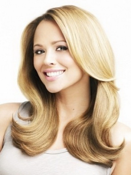 fair hair styles coole frisuren halblange haare 7584