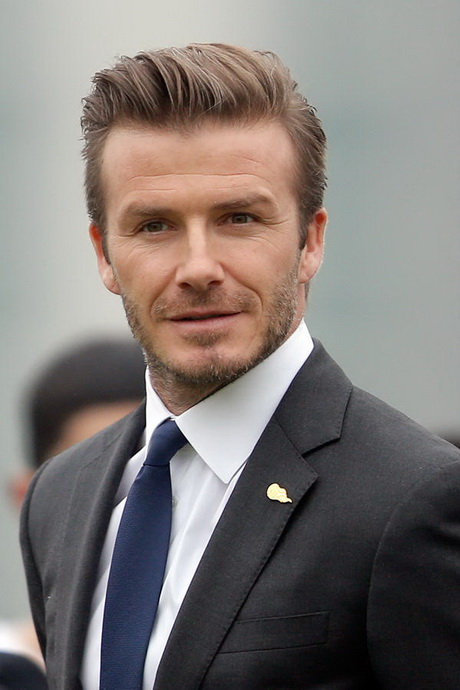 david beckham frisur stylen. Black Bedroom Furniture Sets. Home Design Ideas