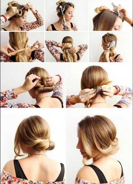 einfache dirndl frisuren zum selbermachen