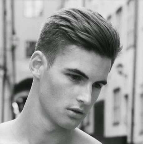 Мужские модный прически для коротких волос фото
