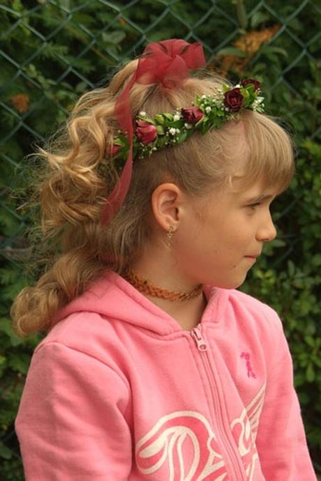 kinderfrisur lange haare