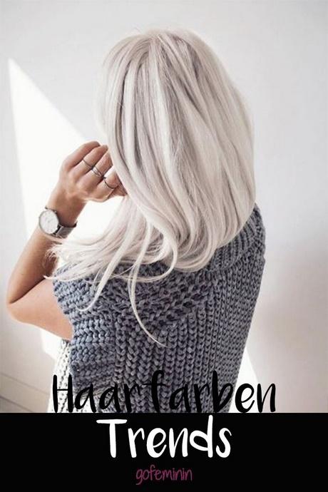 Blonde Haare Trend 2018