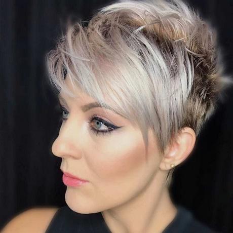 Trend kurzhaarfrisuren blond 2018