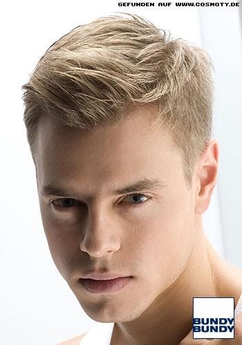 blonde kurzhaarfrisuren m nner