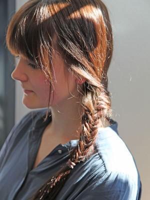 Fischgrätenzopf Kurze Haare
