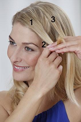 frisuren flechten seitlich