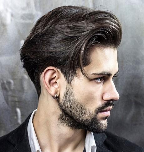 Moderner Haarschnitt