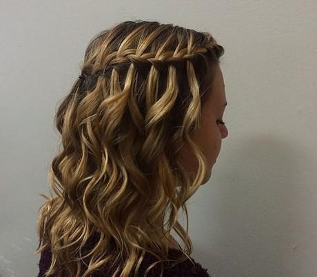 Wasserfall Haare Flechten