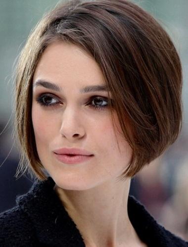 frisur für dünnes haar und rundes gesicht