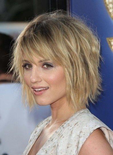 Frisuren mittellang blond dunnes haar