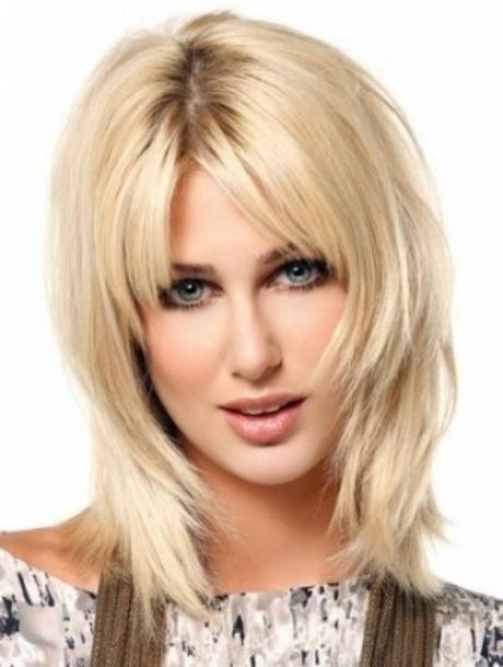 Haarschnitt Frauen Mittellang