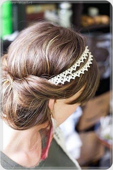 hochsteckfrisuren mit schulterlangem haar