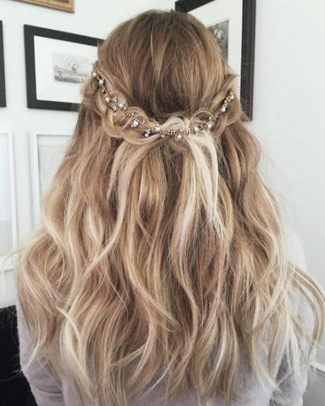 frisuren für festliche anlässe lange haare