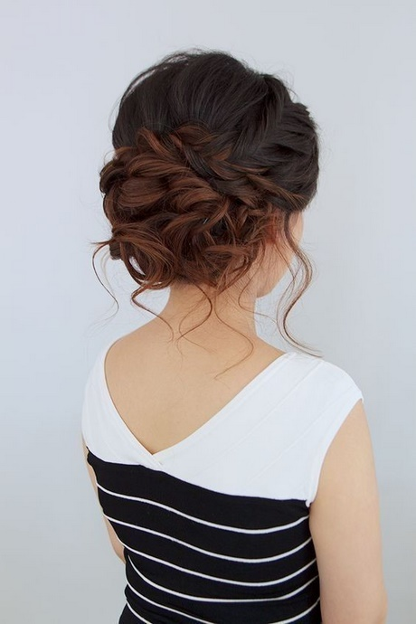 Einfache Frisur Hochzeitsgast