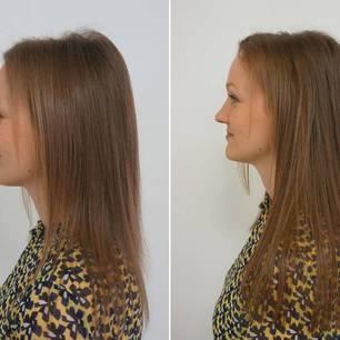 hochsteckfrisur lange dünne haare