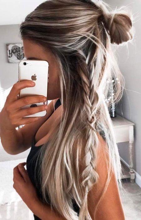 Frisuren fur den alltag lange haare