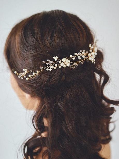 Hochzeitsfrisuren Mit Perlen