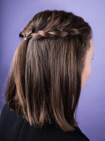 schöne schnelle frisuren für schulterlange haare
