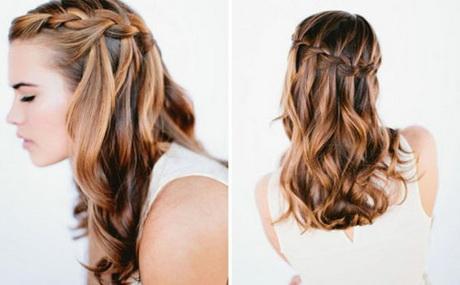 einfache alltagsfrisuren lange haare