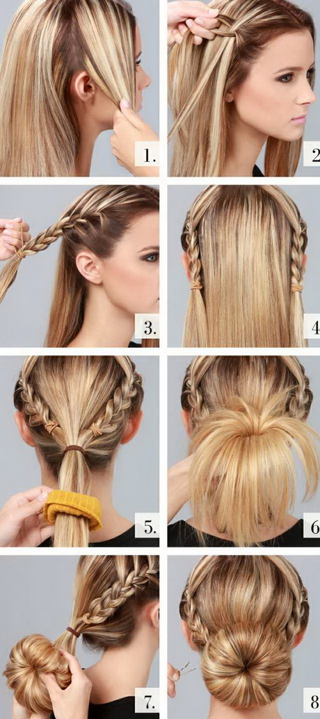 Frisuren lange haare hochstecken