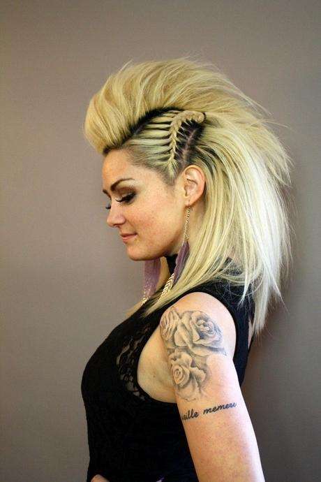 punk frisur lange haare
